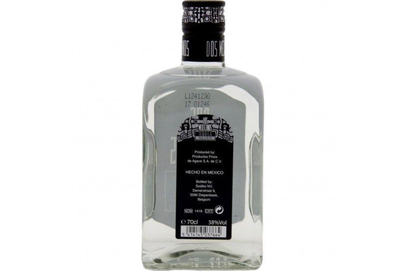 Tequila Dos Mexicanos Silver 70 Cl