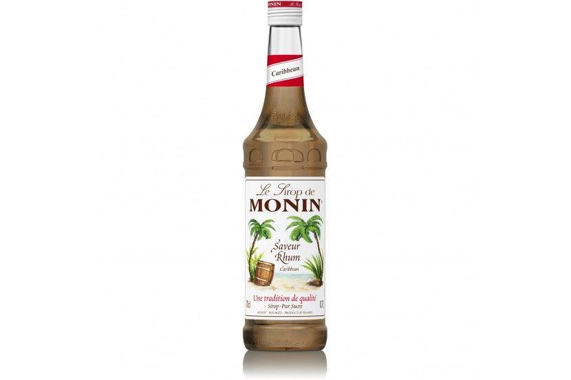 Monin Syrup Caribben Rum 70 Cl