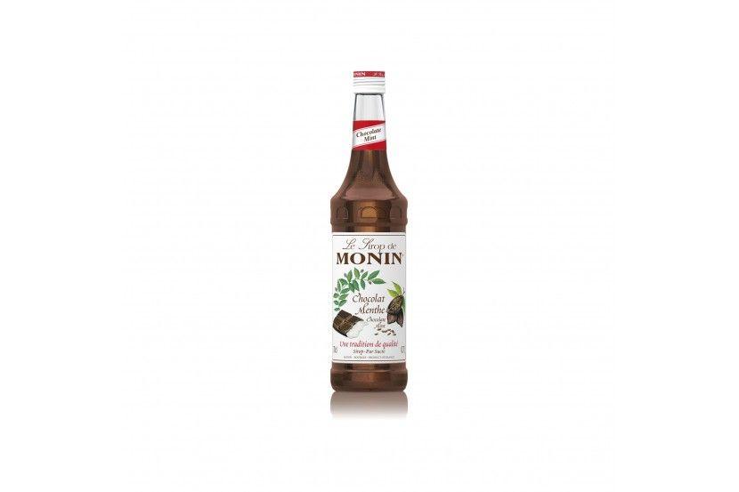 Monin Sirop Chocolate Menta 70 Cl
