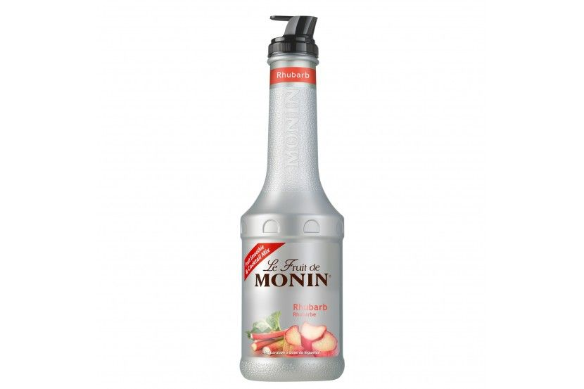 Monin Puree Rubarbe 1 L