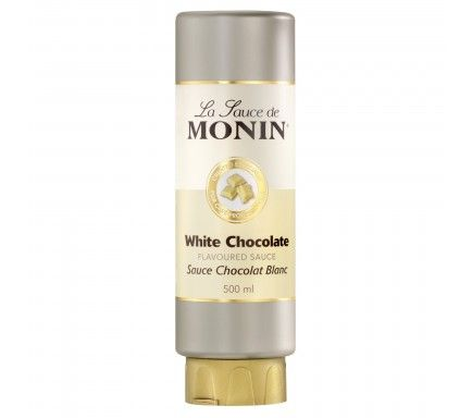 Monin Sauce White Chocolate 50 Cl