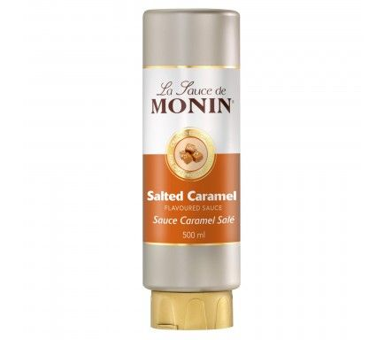 Monin Sauce Caramel Salt 50 Cl
