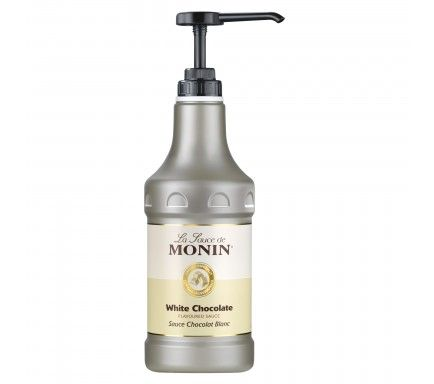 Monin Sauce White Chocolate 1.89 L