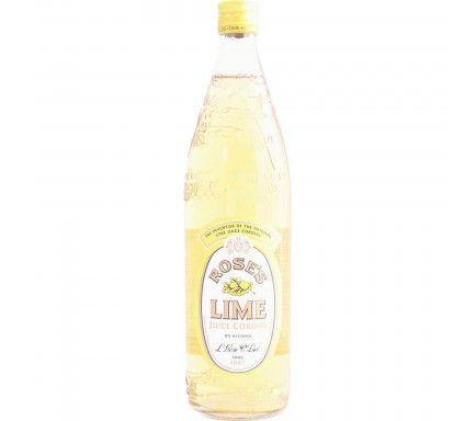 Lime Juice Syrup Rosés 1 L