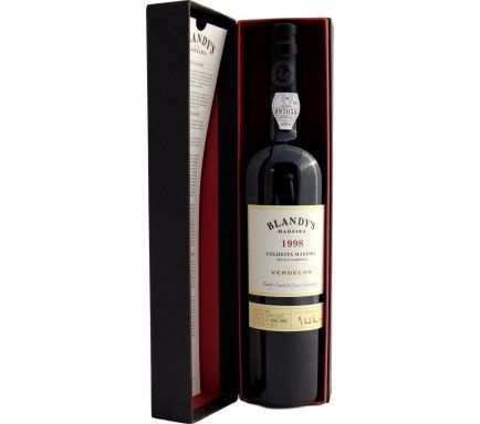 Madeira Blandy'S Malmsey Harvest 1998 50 Cl