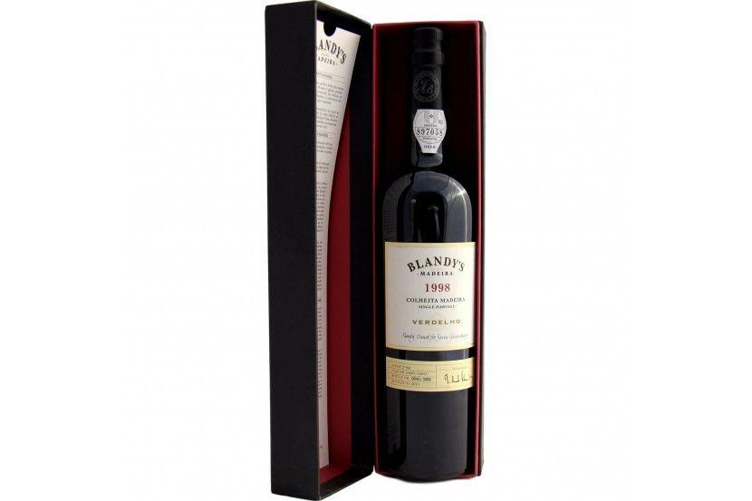 Madeira Blandy'S Malmsey Colheita 1998 50 Cl