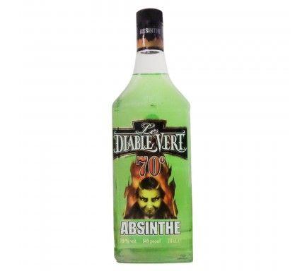 Absinto Diable Vert (70%) 70 Cl