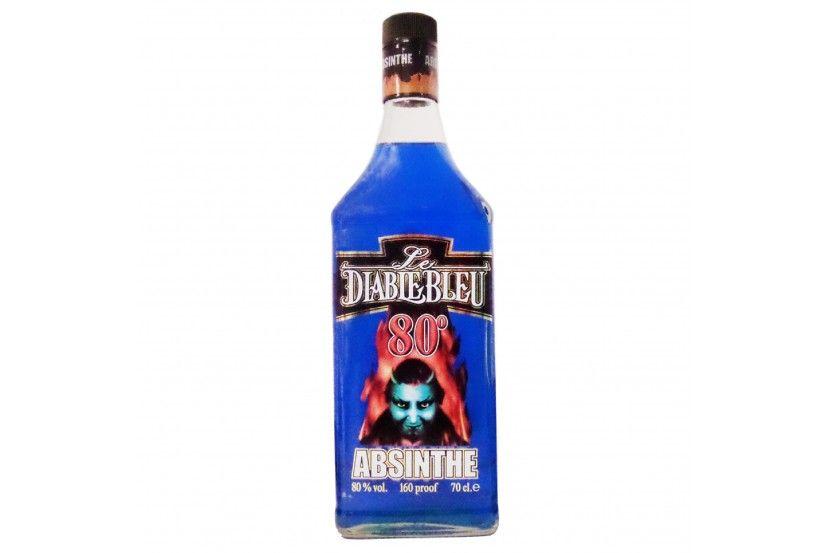 Absinthe Diablo Azul (80%) 70 Cl