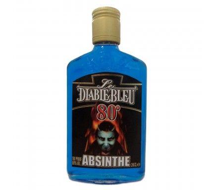 Absinto Diablo Azul (80%) 20 Cl
