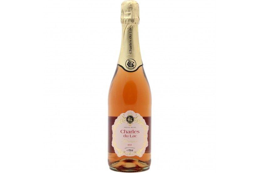 Sparkling Wine Charles Du Lac Rose 75 Cl