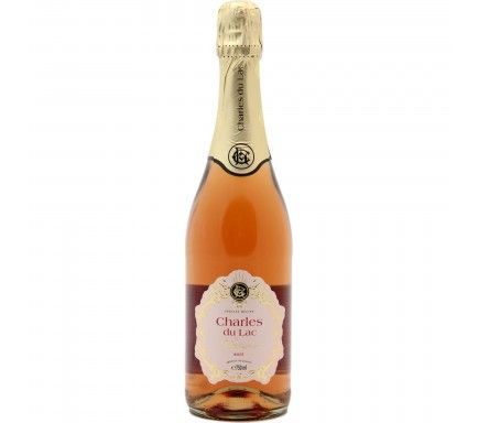 Sparkling Wine Charles Du Lac Rose 75 Cl