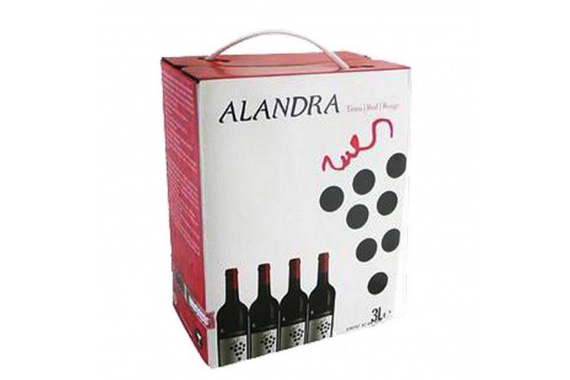 Vinho Tinto Alandra 3 L