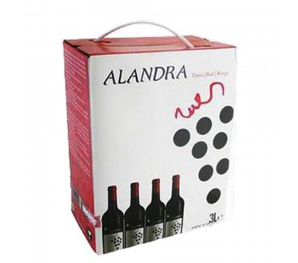 Red Wine Alandra 3 L