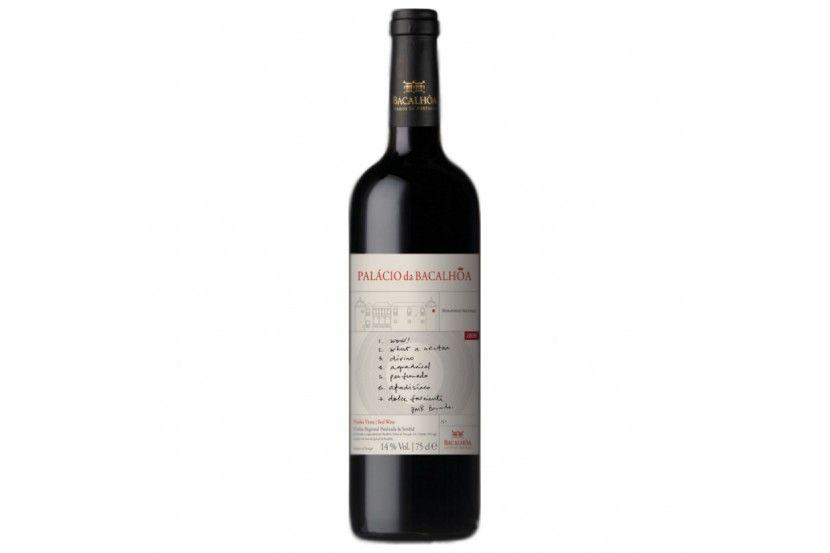 Vinho Tinto Palacio Da Bacalhoa 75 Cl