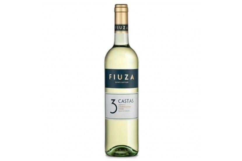 Vinho Branco Fiuza Tres Castas 75 Cl