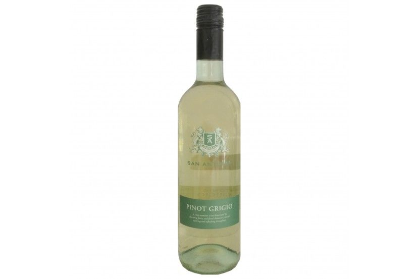 White Wine Botter San Antonio Pinot Grigio 75 Cl