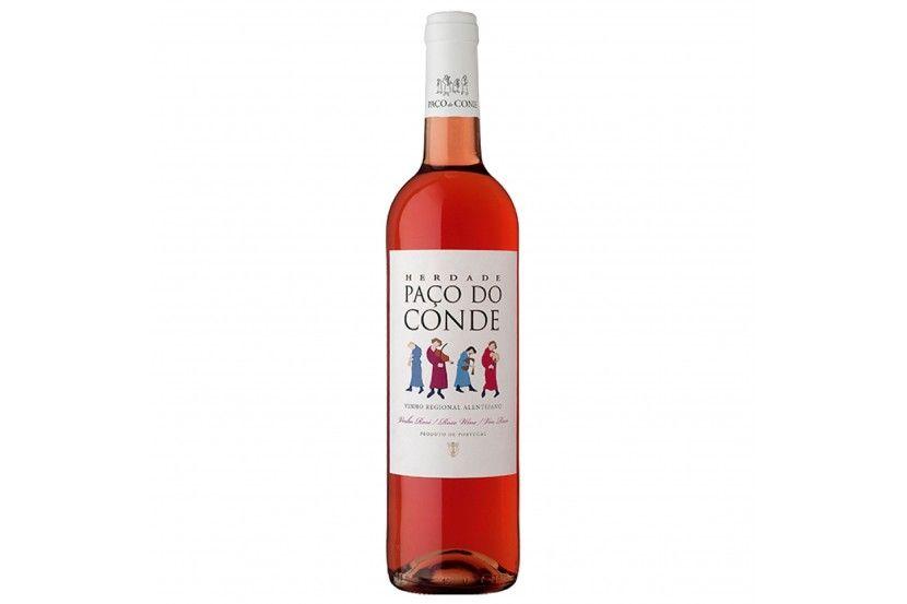 Rose Wine Paço Do Conde 75 Cl