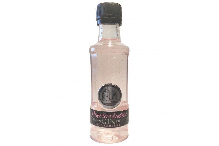 Gin Puerto Indias Strawberry 5 Cl