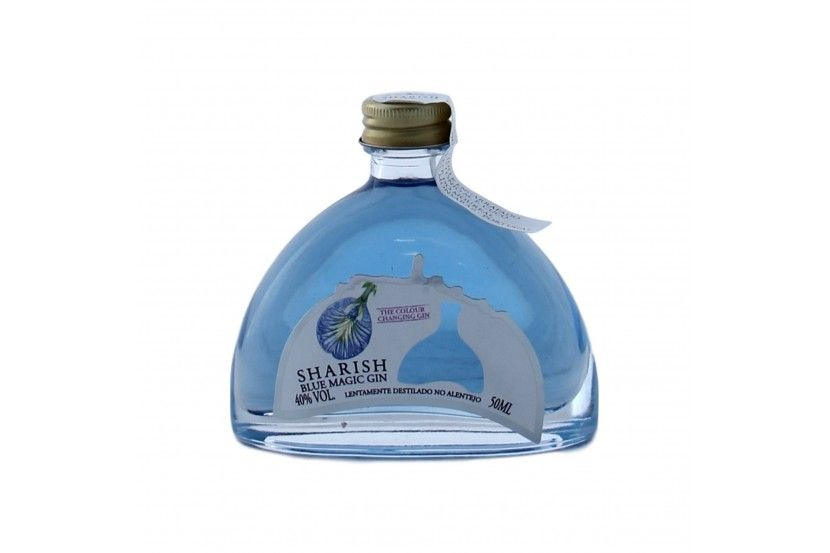 Mini Gin Sharish Blue 5 Cl