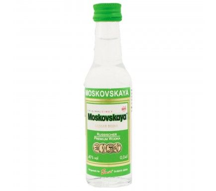 Vodka Moskovskaya 5 Cl