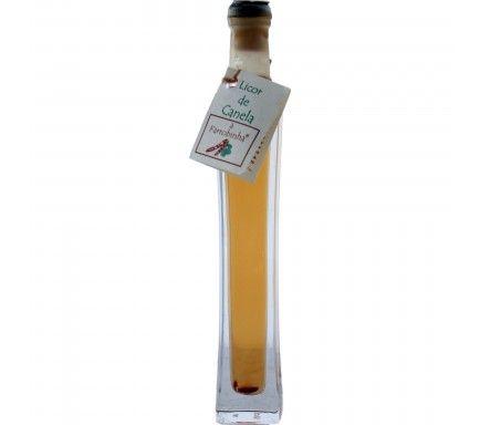 Mini Licor Farrobinha Canela 4 Cl