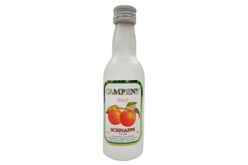 Liqueur Campeny Schnapps Pessego 4 Cl