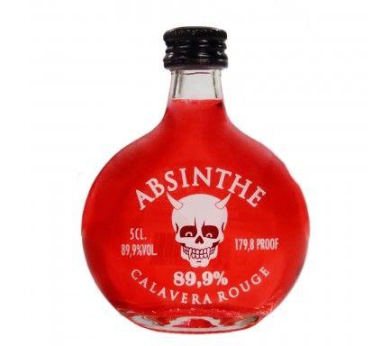 Absinthe Calavera Rojo (89.9%) 5 Cl