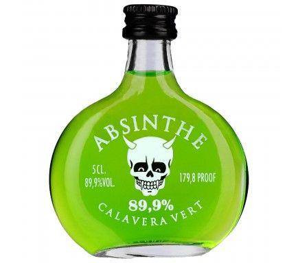 Absinto Calavera Verde (89.9%) 5 Cl