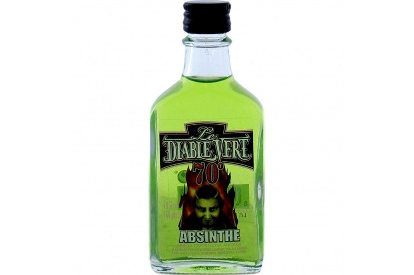 Absinthe Diablo Vert (70%) 4 Cl