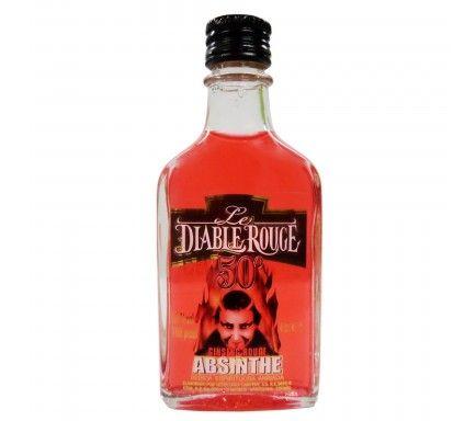 Absinthe Diablo Rouge (50%) 4 Cl