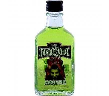 Absinto Diablo Vert (70%) 4 Cl