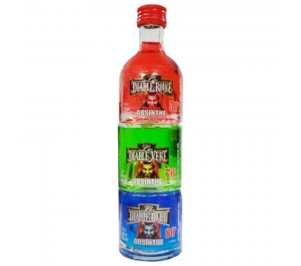 Pack 3X Absinto Apilable 5Cl
