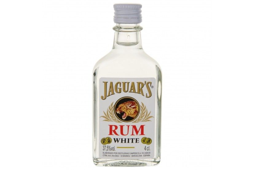 Rum Jaguar's Branco 4 Cl