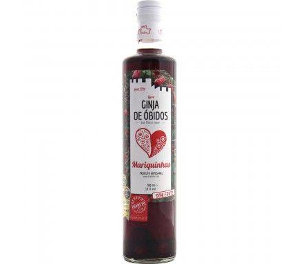 Liquor Real Ginga D'Obidos Mariquinhas (C/ Fruto)  70 Cl