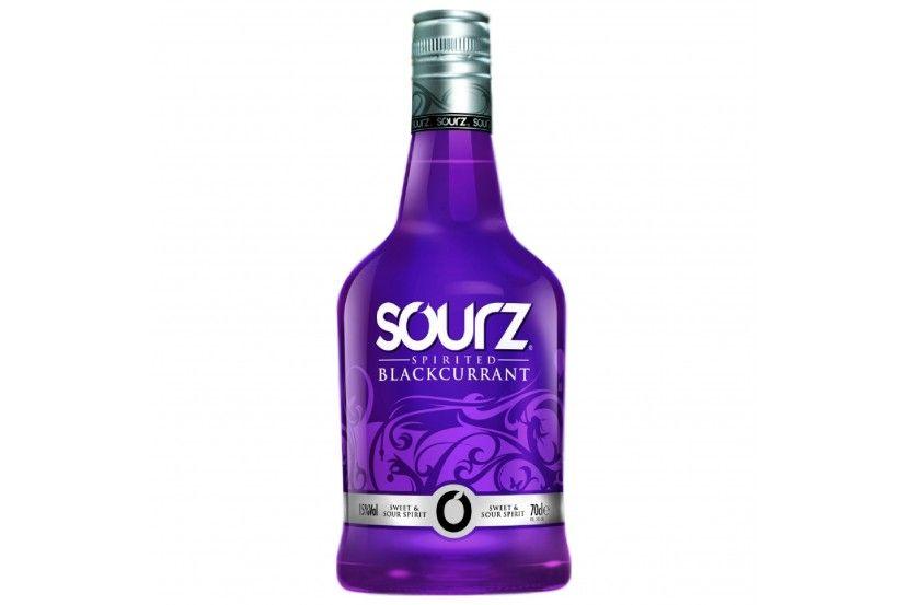 Liquor Sourz Blackcurrant 70 Cl