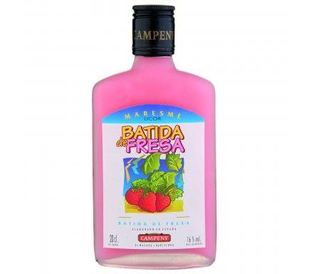 Liquor Campeny Batida De Morango 20 Cl
