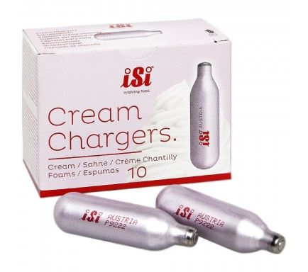 Cream Charges Isi (10 Units)