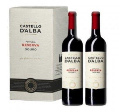 Vinho Tinto Douro Castello D'Alba Reserva 75 Cl