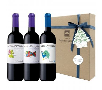 Box 4 Wines (1 Red Monte Peceguina 2011 & 2012 & 2013)
