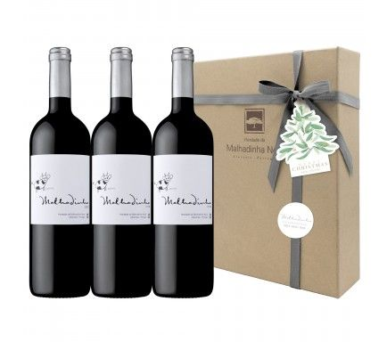 Box 4 Wines (1 Red Malhadinha 2012 & 2013 & 2014)
