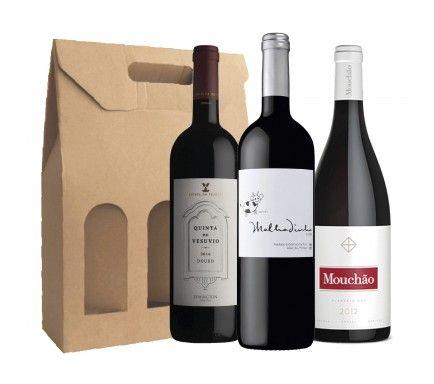 Pack Vinho Tinto Luxo