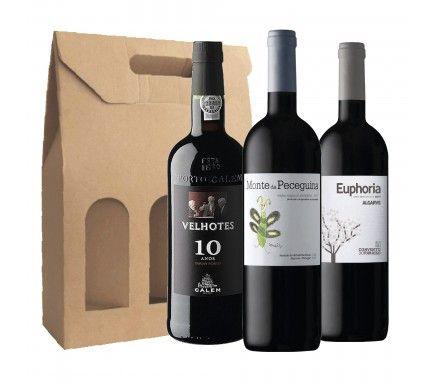 Pack Vinho Tinto Tradicional