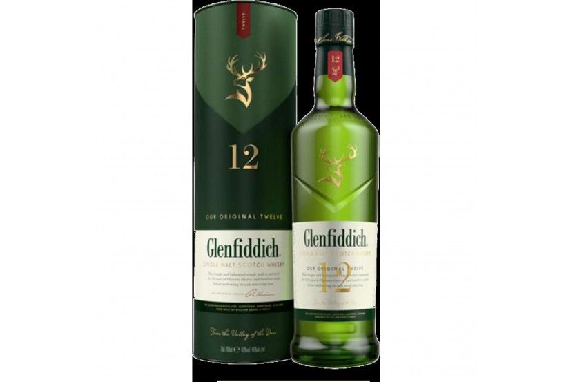 Whisky Malt Glenfiddich 12 Years 70 Cl