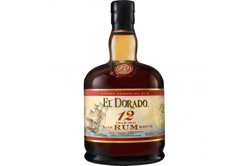 Rum El Dorado 12 Years 70 Cl