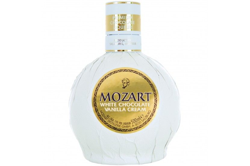 Liquor Mozart White Chocolate 50 Cl
