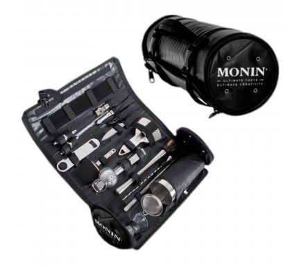 Monin Bartender Kit Roll - 17 Parts
