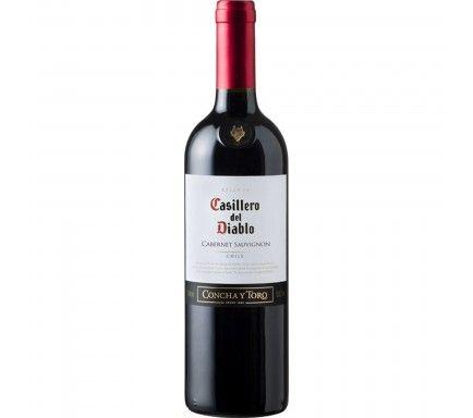 Red Wine Casillero Cabesauv. 75 Cl