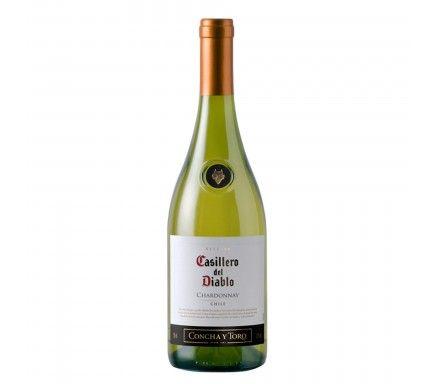 White Wine Casillero Chardonnay 75 Cl
