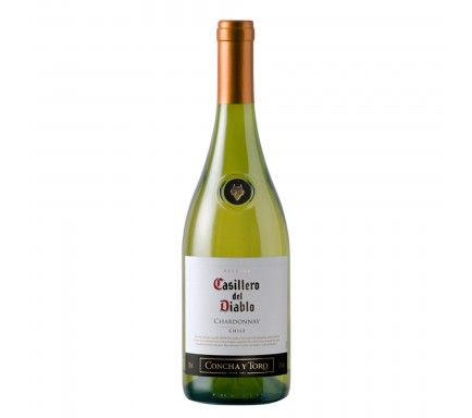 White Wine Casillero Chardonnay 75 Cl