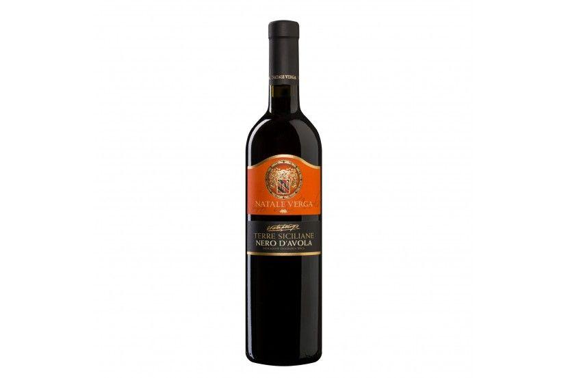 Vinho Tinto Verga Nero D'Avola 75 Cl
